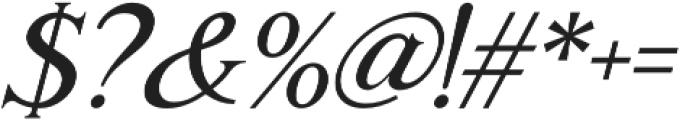 Romaniesta Italic otf (400) Font OTHER CHARS