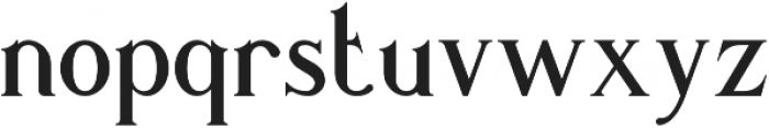 Romaniesta otf (400) Font LOWERCASE