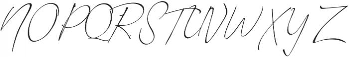 Romantic Couple otf (400) Font UPPERCASE