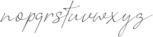 Romantic Couple otf (400) Font LOWERCASE