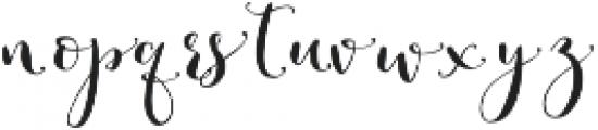Romantic Right 3 otf (400) Font UPPERCASE