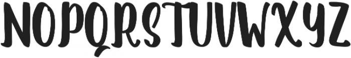 Romanttica otf (400) Font UPPERCASE