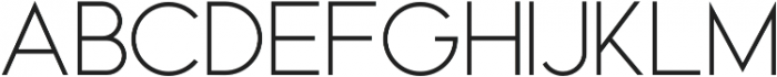 Rome otf (400) Font UPPERCASE