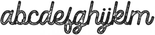 Romedhal Script Stamp otf (400) Font LOWERCASE
