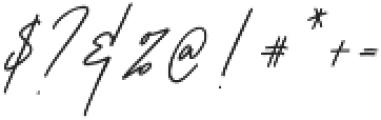 Romello otf (400) Font OTHER CHARS