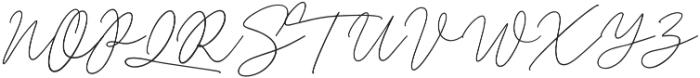 Romello otf (400) Font UPPERCASE