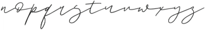 Romello otf (400) Font LOWERCASE