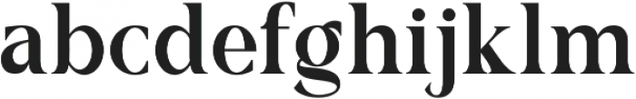 Romerio otf (400) Font LOWERCASE