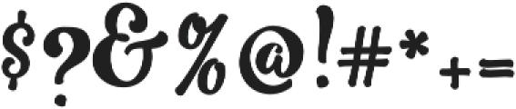 Romero Script otf (400) Font OTHER CHARS