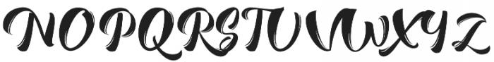 Romero Script otf (400) Font UPPERCASE