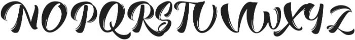 Romero Script ttf (400) Font UPPERCASE