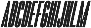 Romestone Italic otf (400) Font UPPERCASE