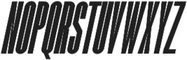 Romestone Italic otf (400) Font LOWERCASE