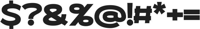 Roona Sans Black ttf (900) Font OTHER CHARS