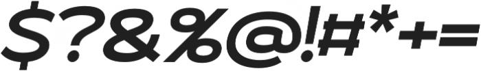 Roona Sans Bold otf (700) Font OTHER CHARS