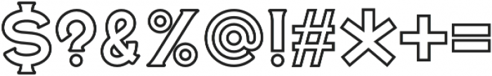 Roosevelt Serif 03 otf (400) Font OTHER CHARS