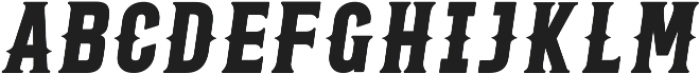 Roper Serif otf (400) Font UPPERCASE