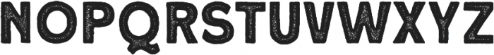 Roquen Stamp otf (400) Font LOWERCASE