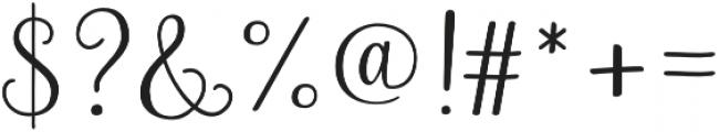 Rosalinda Style01 otf (400) Font OTHER CHARS