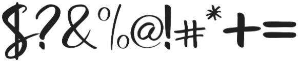 Rosaline otf (400) Font OTHER CHARS