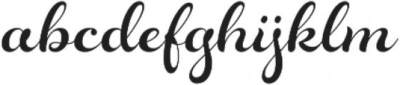 Rosarian otf (400) Font LOWERCASE