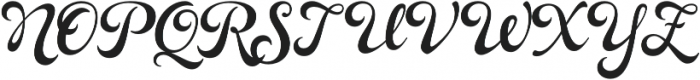 Rosarian otf (700) Font UPPERCASE