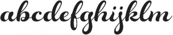 Rosarian otf (700) Font LOWERCASE