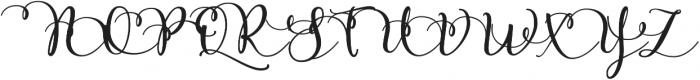 Rose Of Balt One ttf (400) Font UPPERCASE