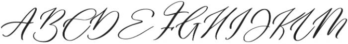 Rose Petals otf (400) Font UPPERCASE