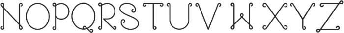 Rose ttf (400) Font UPPERCASE