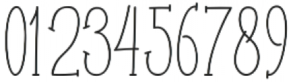 Roselle line otf (400) Font OTHER CHARS