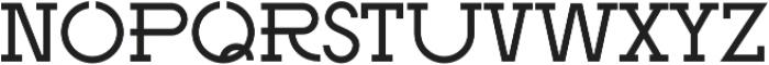 Rosemary SemiBold otf (600) Font LOWERCASE