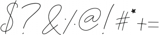 Rosenbloom Regular otf (400) Font OTHER CHARS