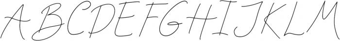 Rosenbloom Regular ttf (400) Font UPPERCASE