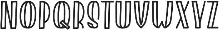 Roserina Jaxolyn Regular otf (400) Font LOWERCASE