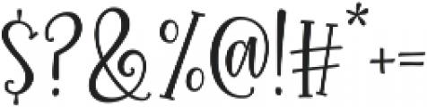 Roseroot Cottage Serif ttf (400) Font OTHER CHARS