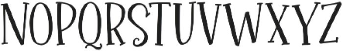 Roseroot Cottage Serif ttf (400) Font UPPERCASE