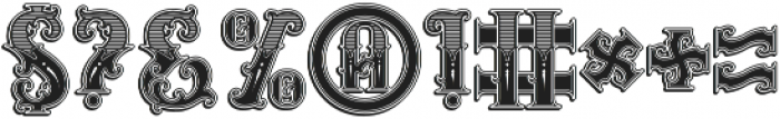 Rosewell decorative otf (400) Font OTHER CHARS