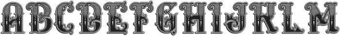 Rosewell decorative otf (400) Font LOWERCASE