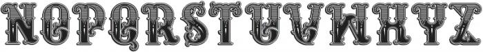 Rosewell regular otf (400) Font LOWERCASE
