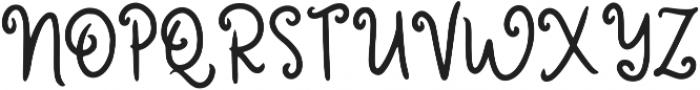 Rosita ttf (400) Font UPPERCASE