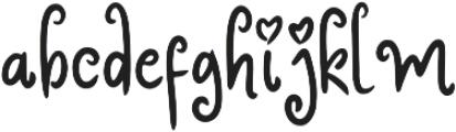 Rosita ttf (400) Font LOWERCASE