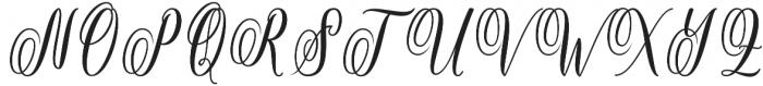Rositha otf (400) Font UPPERCASE