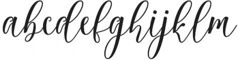 Rositha otf (400) Font LOWERCASE
