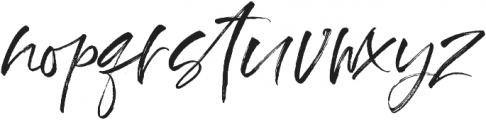 Ross Creek Script otf (400) Font LOWERCASE