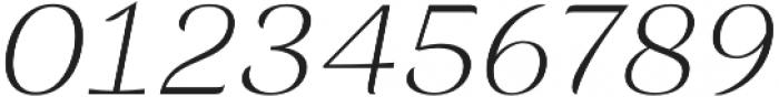 Rossanova Extra Light Italic otf (200) Font OTHER CHARS