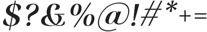 Rossanova Medium Italic otf (500) Font OTHER CHARS