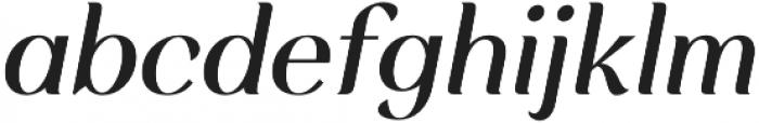 Rossanova Medium Italic otf (500) Font LOWERCASE