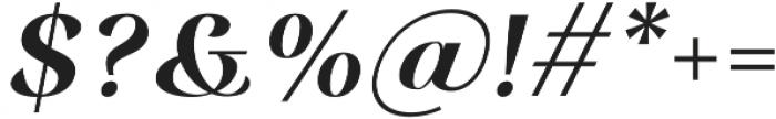 Rossanova Semi Bold Italic otf (600) Font OTHER CHARS