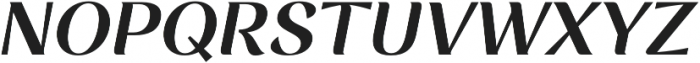 Rossanova Semi Bold Italic otf (600) Font UPPERCASE